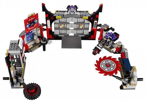 Lego 70640 Ninjago - Quartel General dos Filhos de Garmadon 530 peças  - Doce Diversão