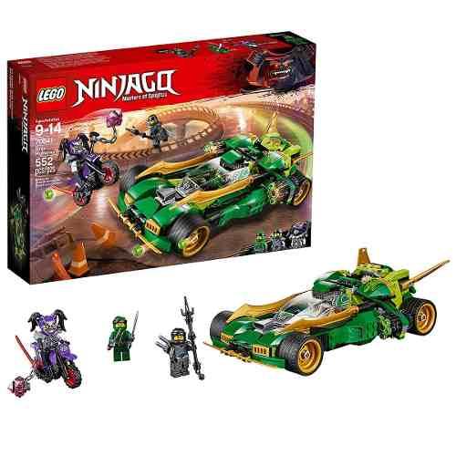 Lego 70641 Ninjago Ninja Noturno – 552 peças  - Doce Diversão