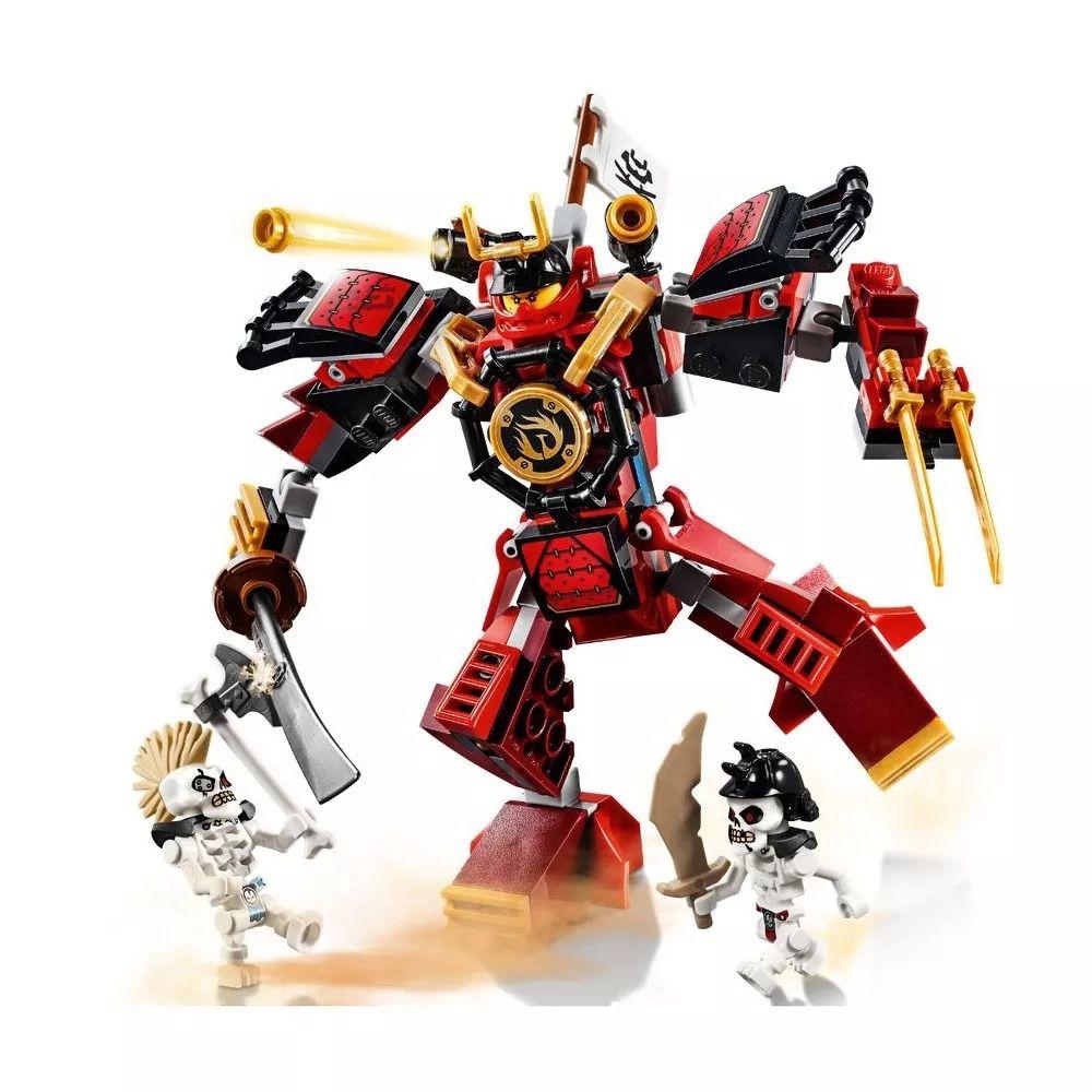 Lego 70665 Ninjago Legacy - o Robô Samurai – 154 peças  - Doce Diversão