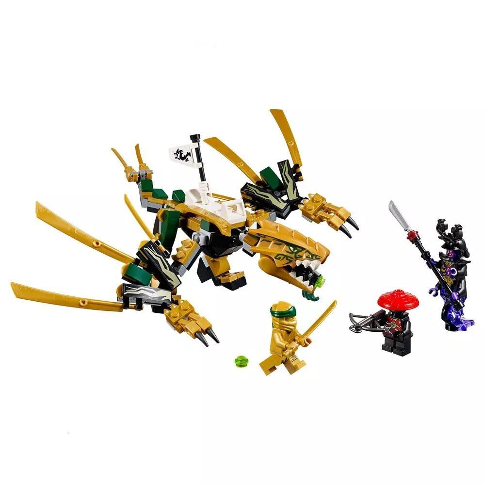 Lego 70666 Ninjago Legacy - Dragão Dourado – 171 peças  - Doce Diversão