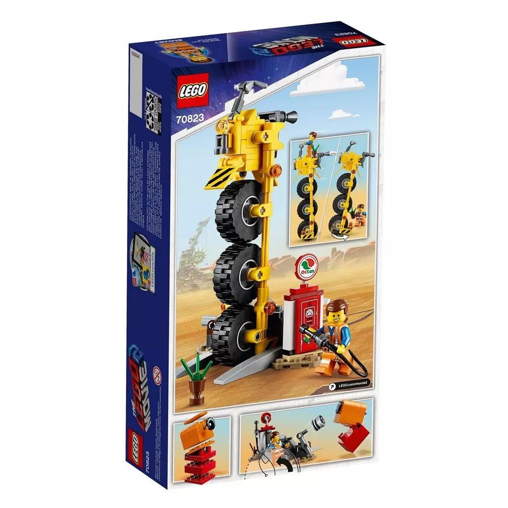 Lego 70823 Movie - O Filme 2 - Triciclo Do Emmet – 174 peças  - Doce Diversão