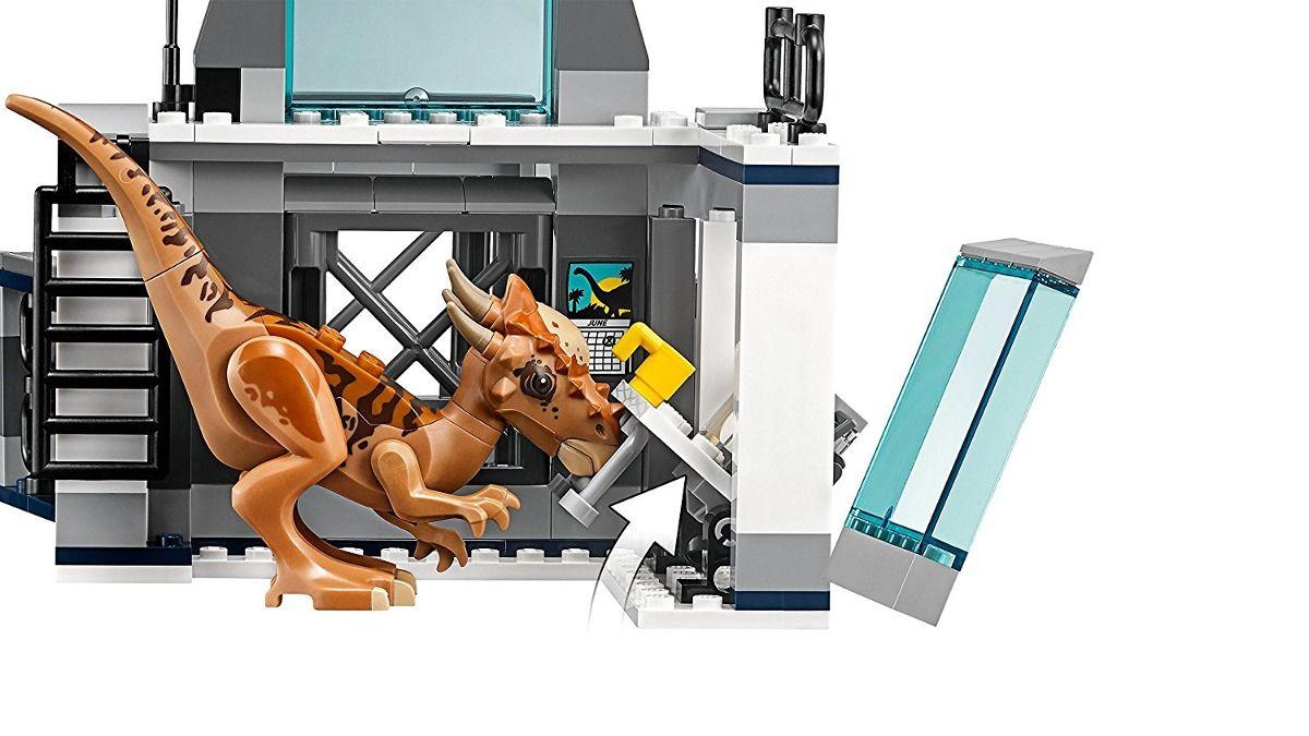 Lego 75927 Jurrasic World - Fuga do Laboratório Stygimoloch   - Doce Diversão