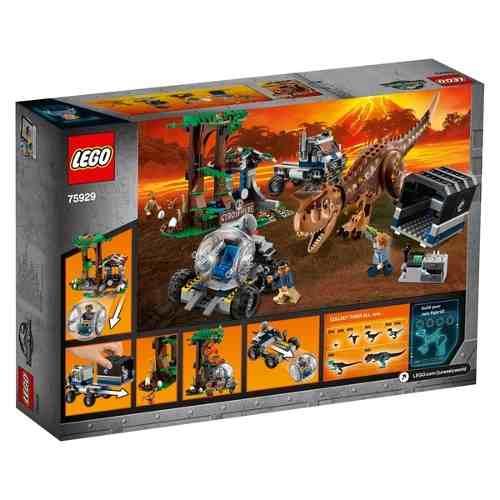 Lego 75929 Jurrasic World - Fuga da Girosfera do Carnotauro 577 peças  - Doce Diversão