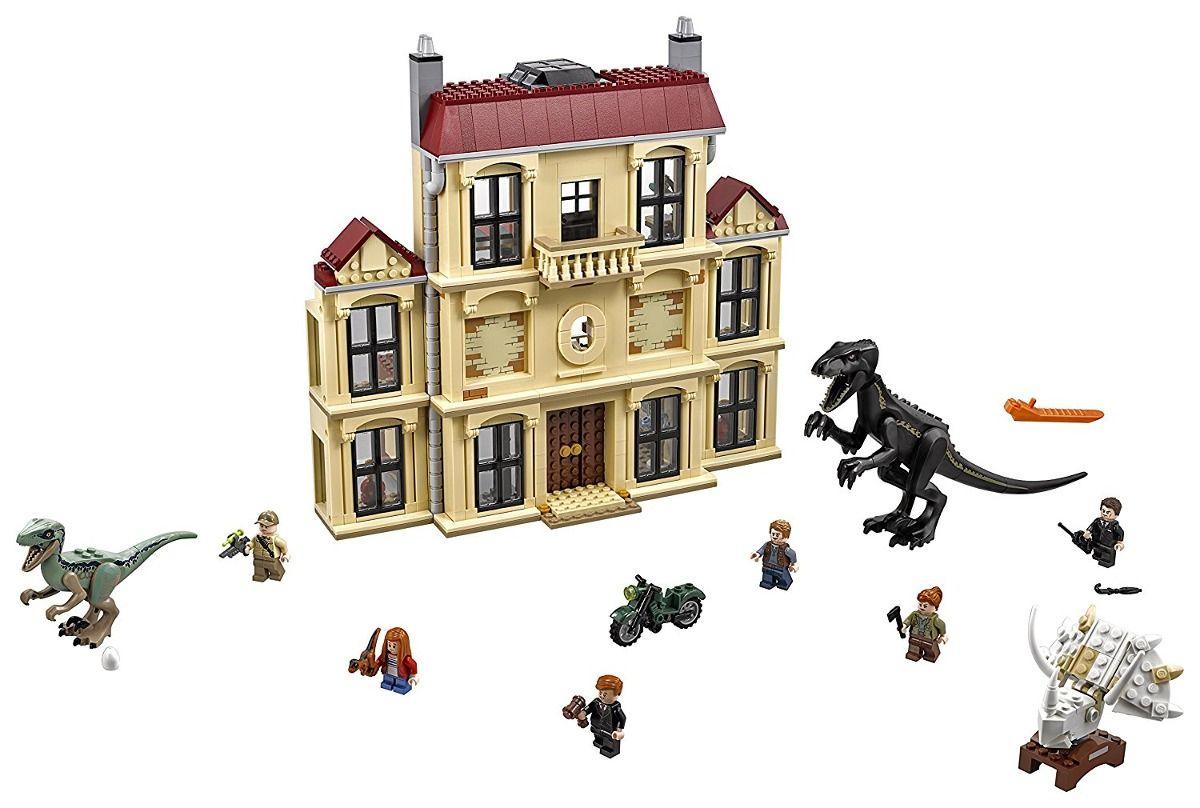 Lego 75930 Jurassic World - Indoraptor Fúria Estado Lockwood 1019 peças  - Doce Diversão