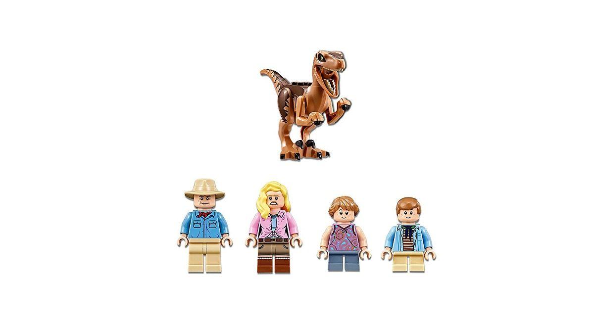 Lego 75932 Jurrasic World - Perseguição de Raptor No Parque Jurássico  - Doce Diversão
