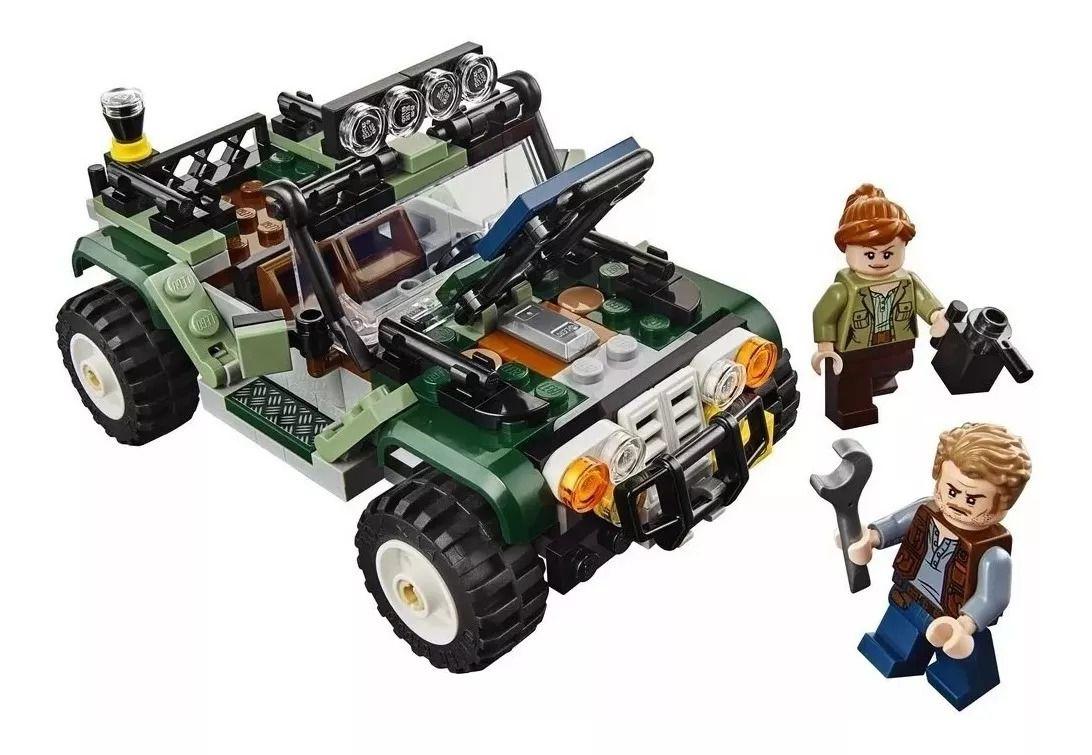 Lego 75935 Jurassic World Confronto Baryonyx Caça ao Tesouro - 434 peças  - Doce Diversão
