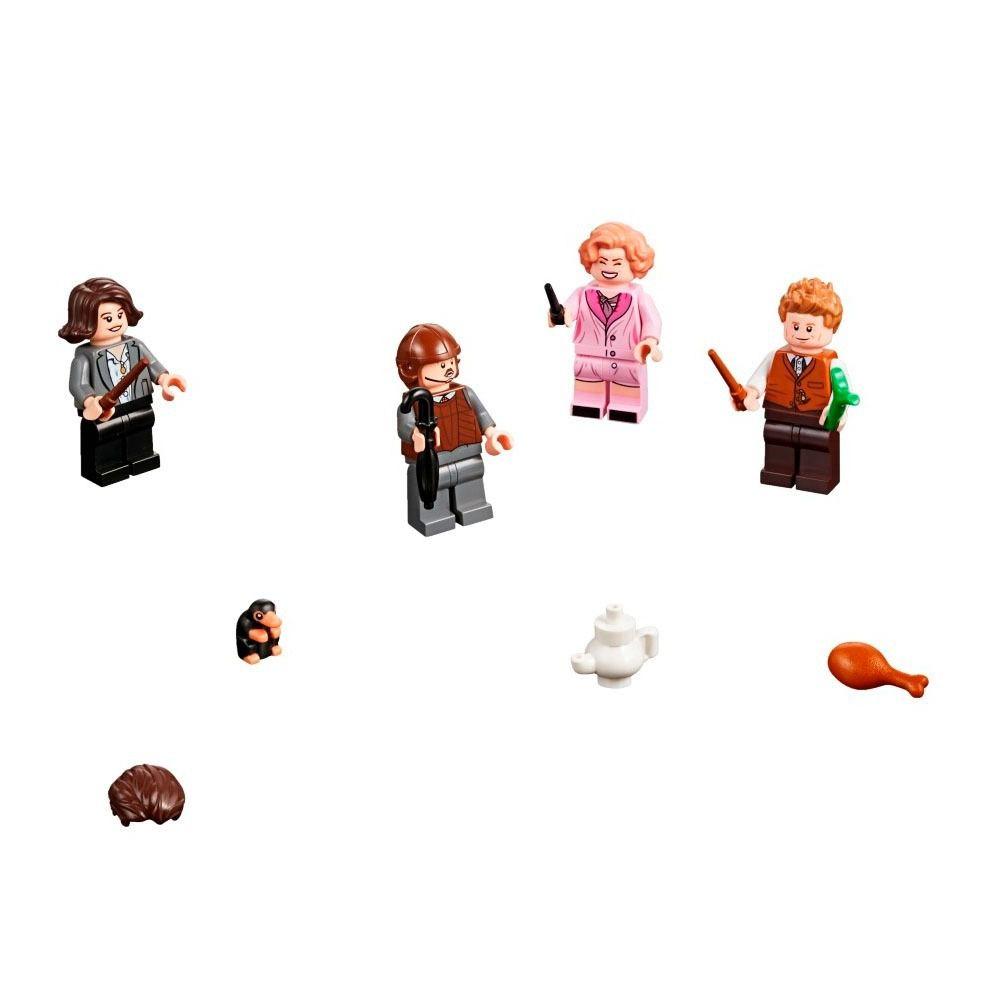 Lego 75952 Animais Fantásticos - a Mala de Criaturas Mágicas de Newt   - Doce Diversão