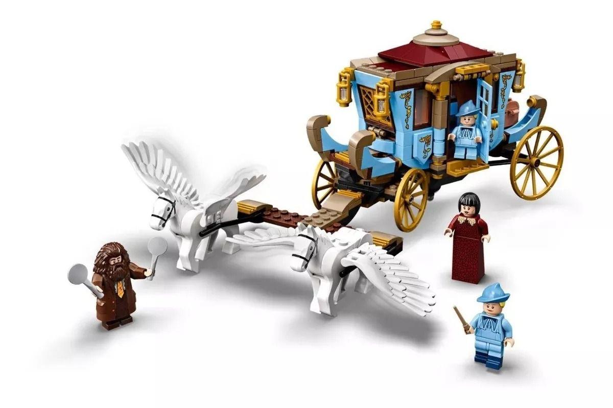 Lego 75958 Harry Potter - Carruagem de Beauxbatons: Chegada a Hogwarts – 430 peças  - Doce Diversão