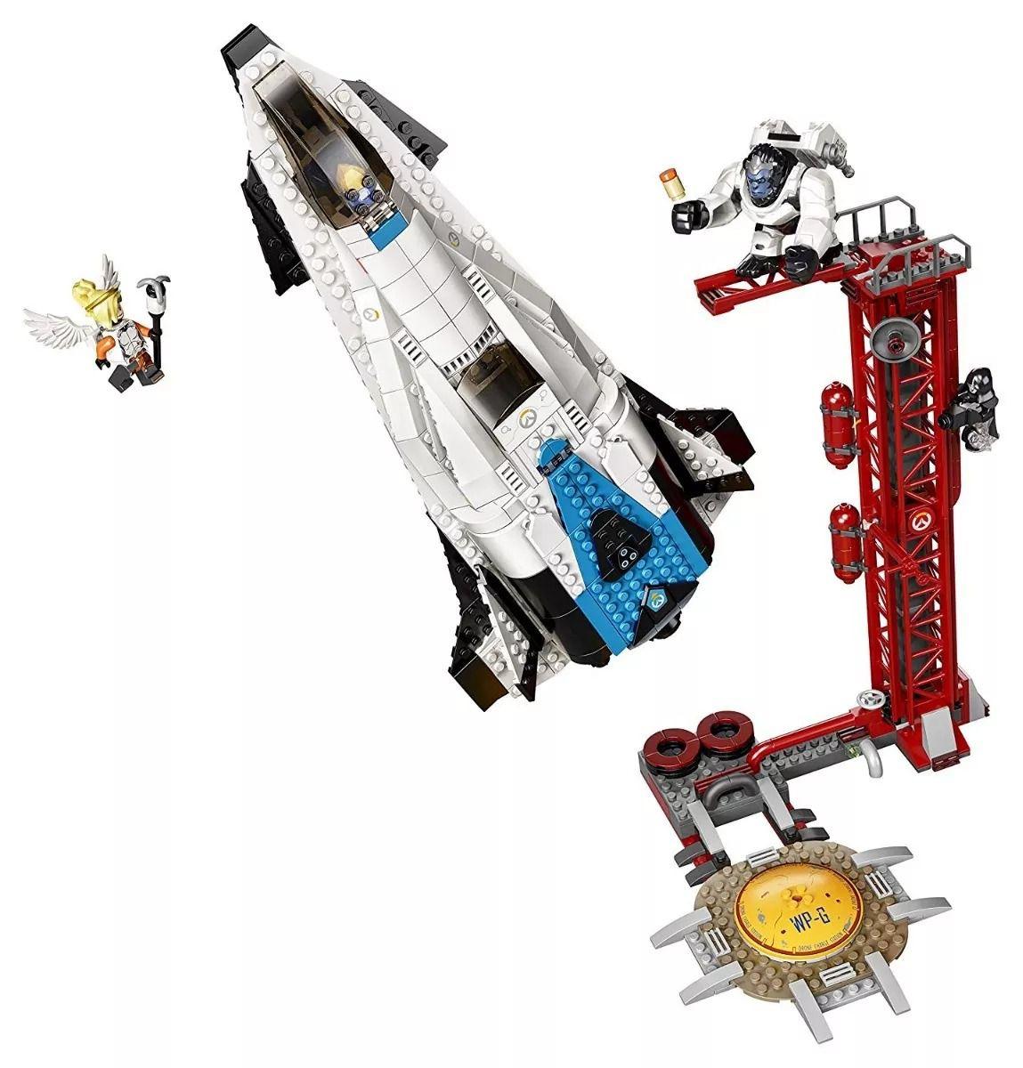 Lego 75975 Overwatch - Ponto de Vigia Gibraltar – 730 peças  - Doce Diversão