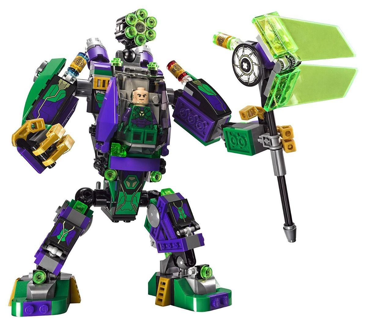 Lego 76097 Super Heroes Liga da Justiça - Robô do Lex Luthor -406 peças  - Doce Diversão