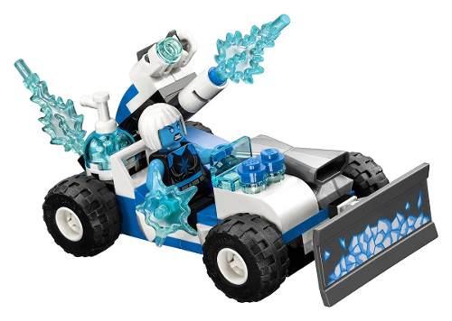 Lego 76098 Super Heroes Liga da Justiça - Perseguição Congelante em Alta Velocidade   - Doce Diversão