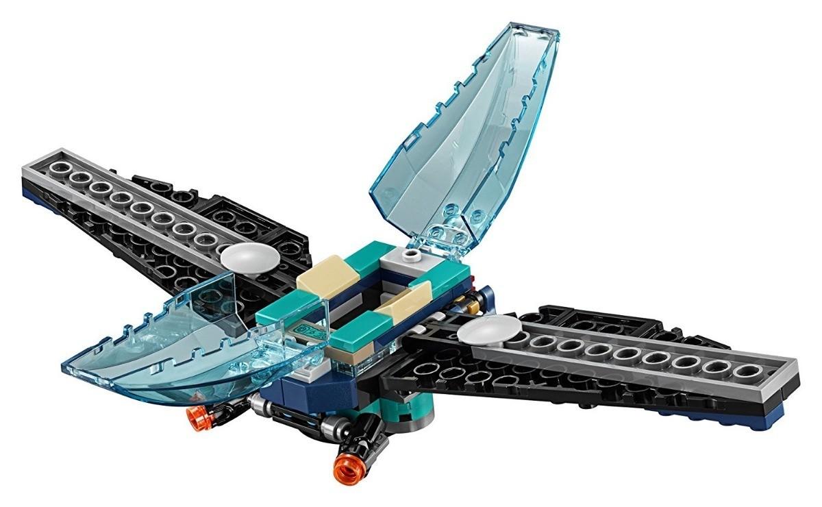 Lego 76101 Vingadores - Ataque a Escolta de Cargueiro - 124 peças  - Doce Diversão