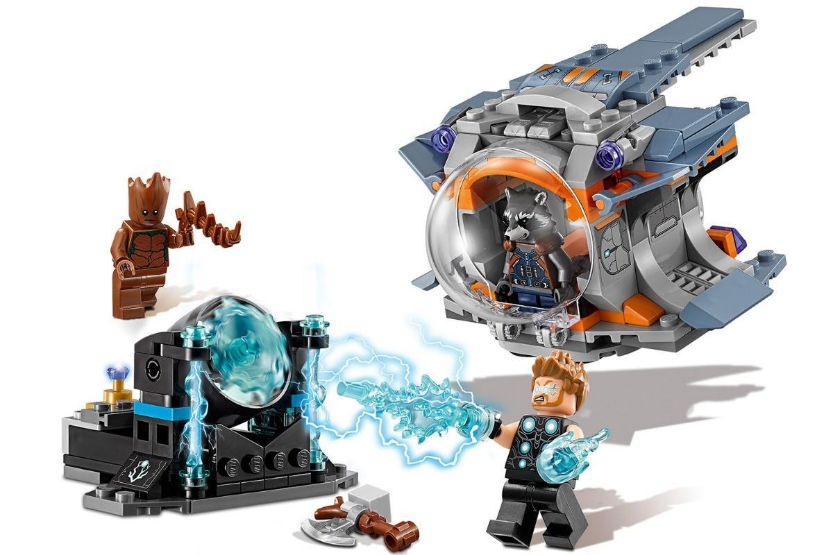 Lego 76102 Vingadores – Procura da Arma Machado de Thor – 223 peças  - Doce Diversão