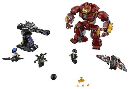 Lego 76104 Vingadores – Ataque Destruidor de Hulkbuster – 375 peças  - Doce Diversão