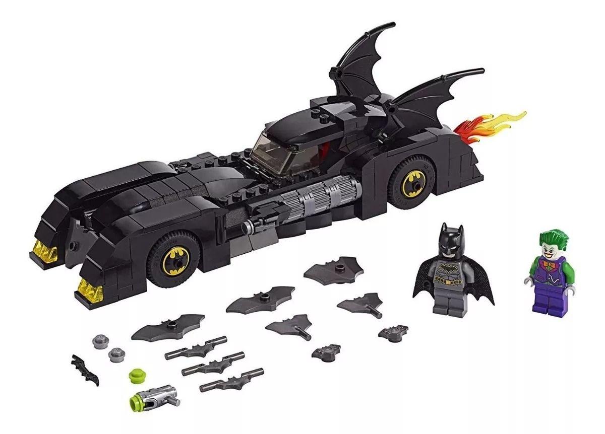 Lego 76119 Batman –  Batmóvel Perseguição ao Coringa - 342 peças  - Doce Diversão