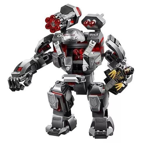 Lego 76124 Vingadores Ultimato – Buster Máquina de Combate – 362 peças  - Doce Diversão