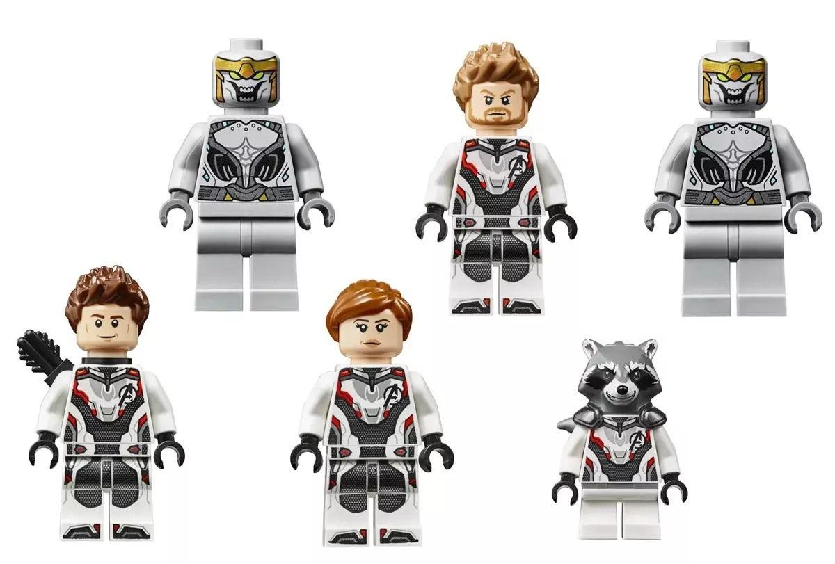 Lego 76126 Marvel Vingadores Ultimato – Quinjet Avengers – 838 peças  - Doce Diversão