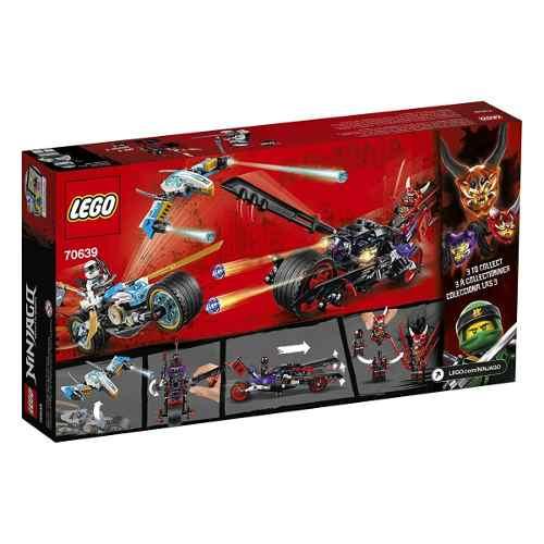 Lego 70639 Ninjago a Corrida de Rua de Serpente Jaguar 308 peças  - Doce Diversão