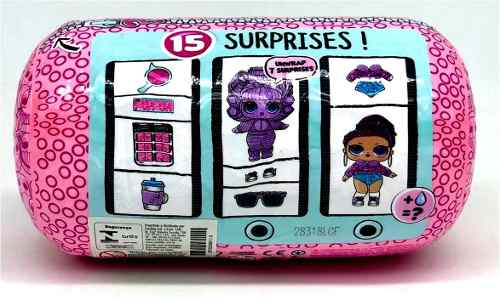 Lol  Surprise Eye Spy Under Wraps Cápsula 15 Surpresas Candide   - Doce Diversão