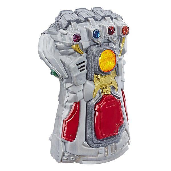 Luva Manopla Eletrônica Thanos Vingadores Ultimato Com Som e Luz - Hasbro  - Doce Diversão