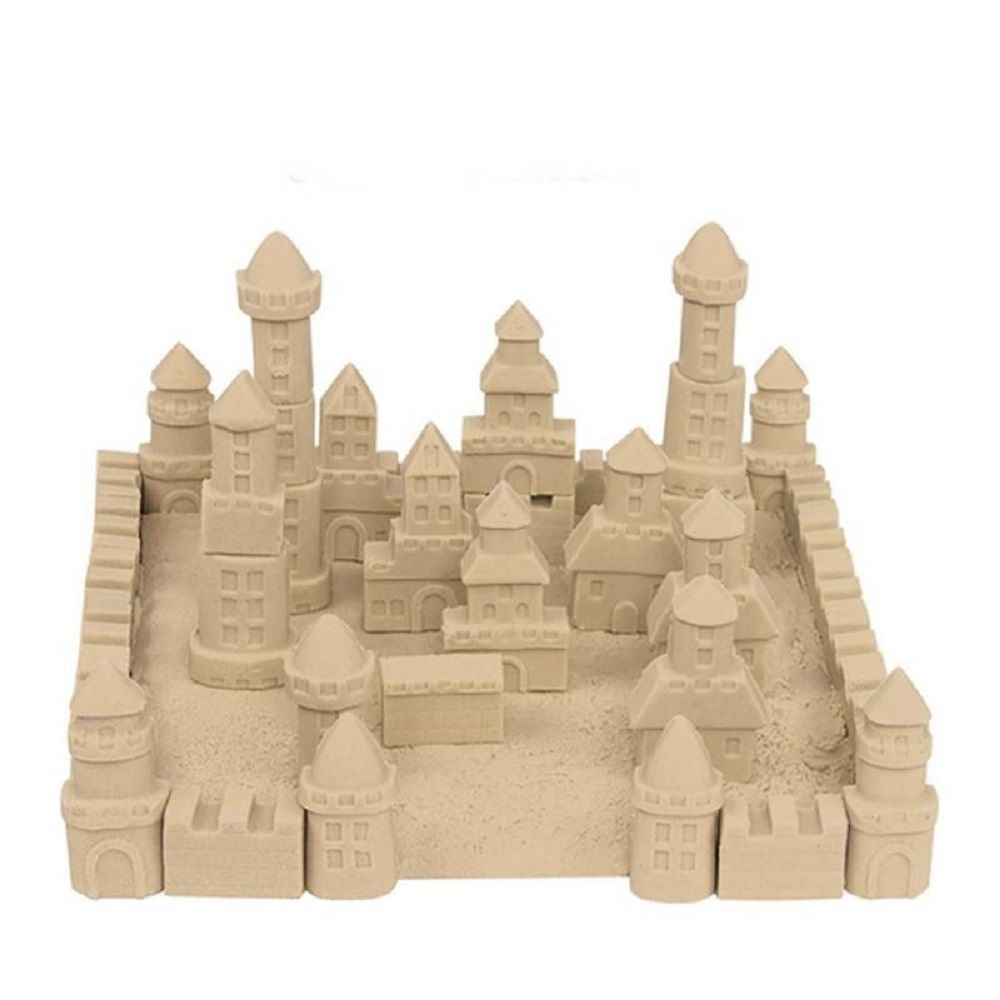 Massa Areia Para Modelar  Kinetic Sand Marrom 1,36 kg - Sunny  - Doce Diversão