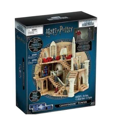 Nano Metal Castelo Grifinória Harry Potter + 2 figuras  Dtc  - Doce Diversão