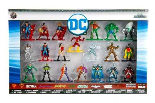 Nano Metal DC Comics Coleção Completa Pack Com 20 –DTC  - Doce Diversão