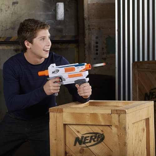 Nerf Modulus Mediator Com Pente 6 dardos Hasbro  - Doce Diversão