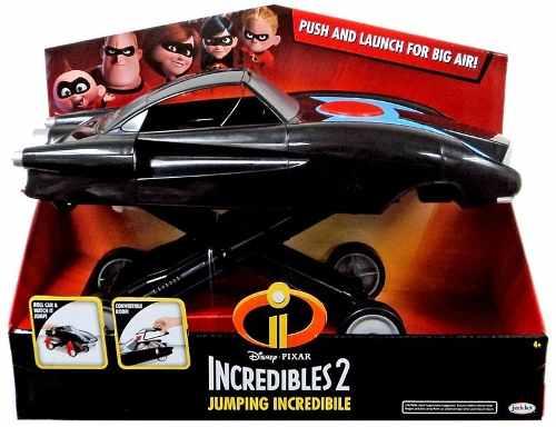 Os Incríveis 2 - Carro Saltador Do Sr Incrível Sunny   - Doce Diversão