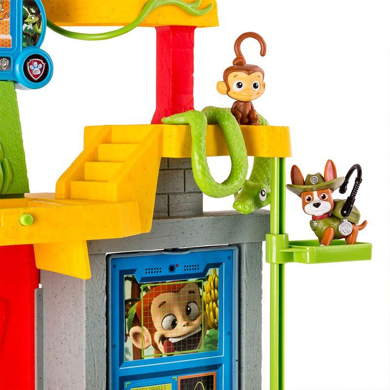 Patrulha Canina Pista Resgate Selva – Templo Macaco - Sunny  - Doce Diversão
