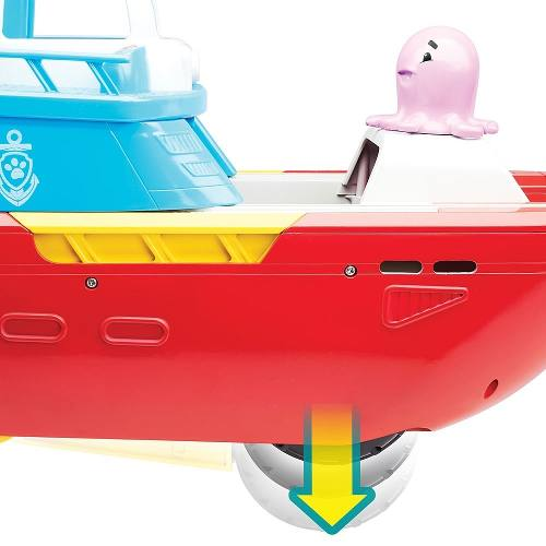 Patrulha Canina Ryder Patrulheiro Mar Barco C som e luz Sunny  - Doce Diversão