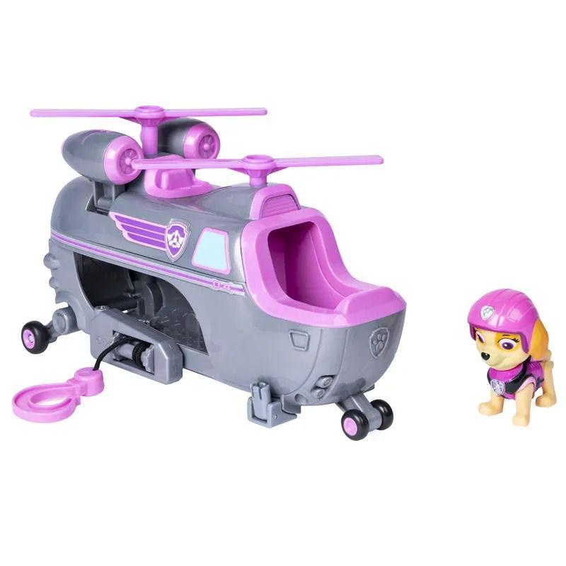 Patrulha Canina Ultimate Resgate Extremo - Skye Helicopter Veículo com Figura - Sunny   - Doce Diversão