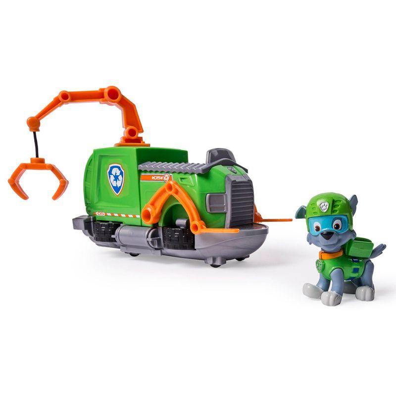 Patrulha Canina Veiculo C Figura – Rockys Tugboat- Sunny  - Doce Diversão