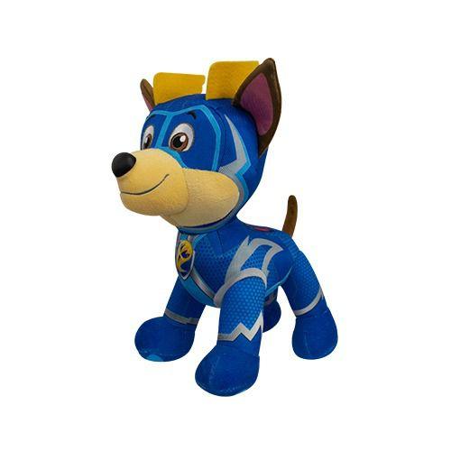 Pelúcia Patrulha Canina Super Filhotes – Chase Mighty Pups 30 cm - Sunny  - Doce Diversão