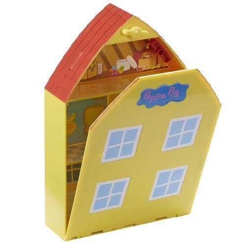 Peppa Pig - Casa com Jardim 28cm - Dtc   - Doce Diversão