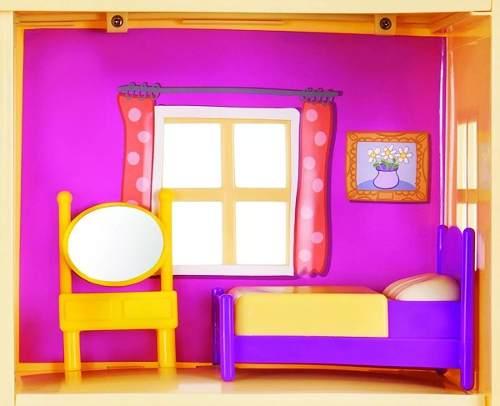 Peppa Pig - Casa da Família Peppa 55 cm C Som e Luz  - Dtc   - Doce Diversão