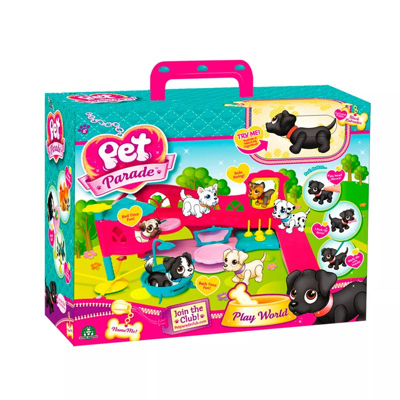 Pet Parade Playset Playworld cachorrinho  - Multikids  - Doce Diversão