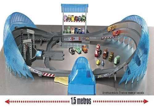 Pista Carros 3 Autódromo da Flórida + Relampago Mcqueen Mattel  - Doce Diversão