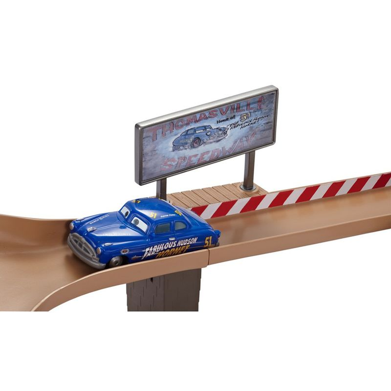 Pista Corrida Carros 3 Disney  Thomasville Trackset -Mattel  - Doce Diversão