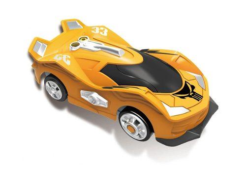 Pista Wave Racers + 2 carros – Spiral Frenzy – Sensor de Aceno – DTC   - Doce Diversão