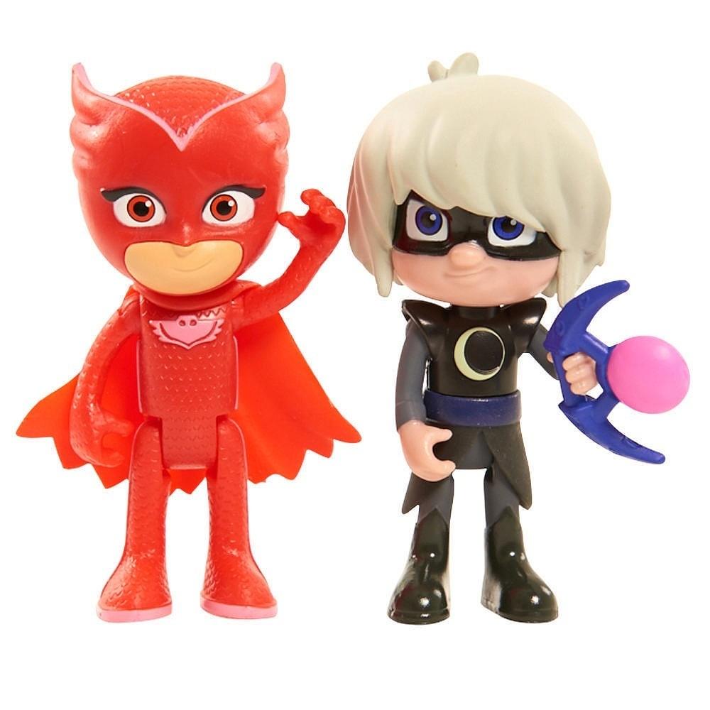 PJ Masks Dupla Bonecos Corujita C luz e Garota Lunar  -  DTC  - Doce Diversão
