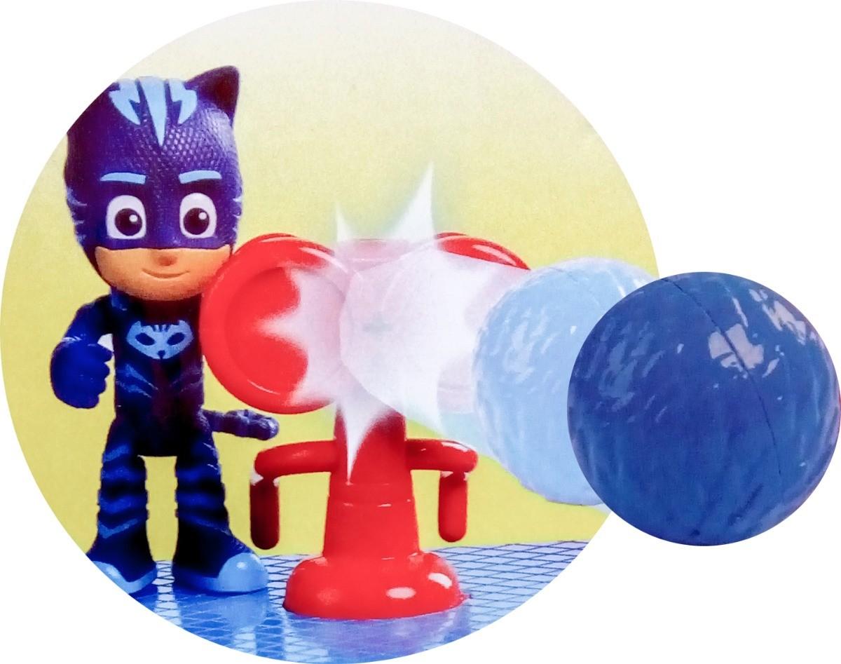 PJ Masks Quartel General Com Luz e Som - DTC  - Doce Diversão