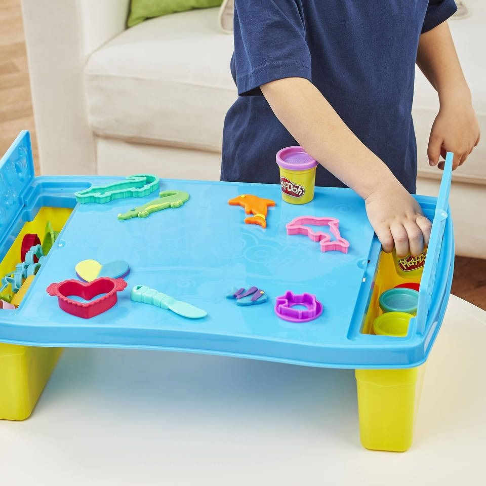 Play Doh Kit Mesa Criativa de Atividades  Hasbro  - Doce Diversão