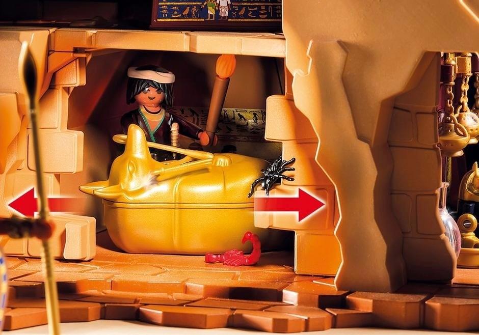 Playmobil 5386 History Egito Pirâmide do Faraó Sunny  - Doce Diversão
