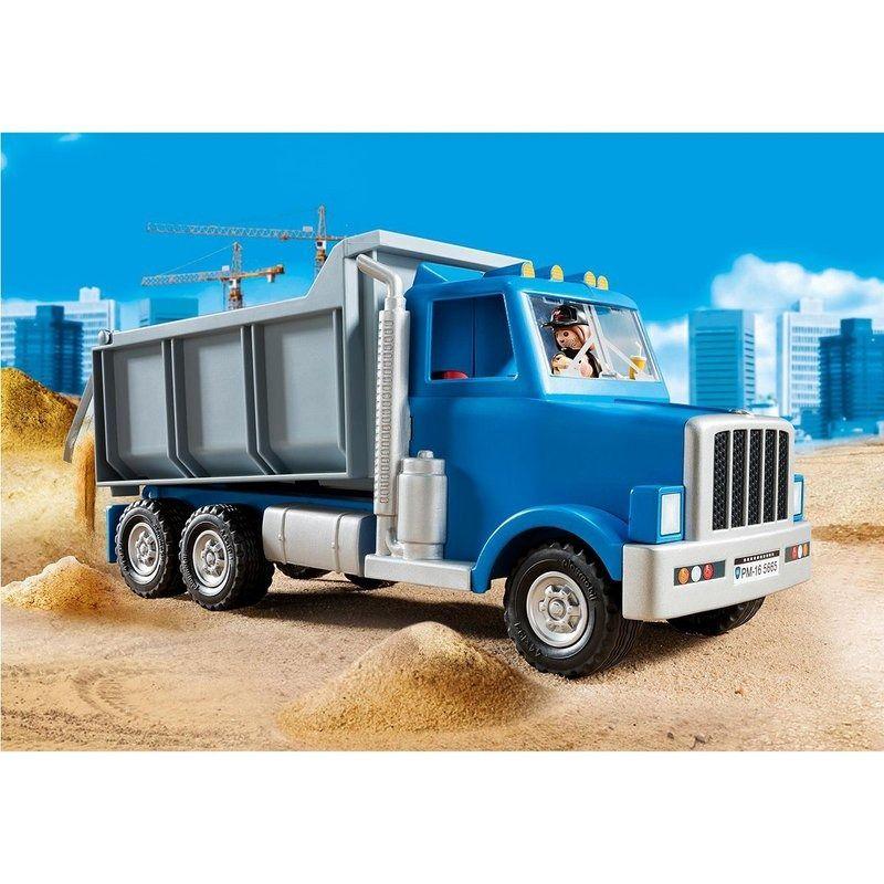 Playmobil City Action – Caminhão Basculante- Sunny  - Doce Diversão