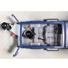 Playmobil City Action Caminhão Policia Com Lancha motorizada - Suny   - Doce Diversão