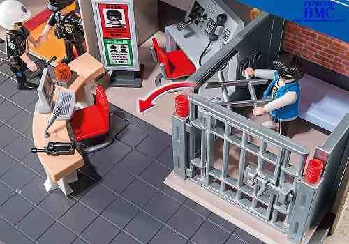 Playmobil City Action Estação Comando da Policia - Sunny   - Doce Diversão