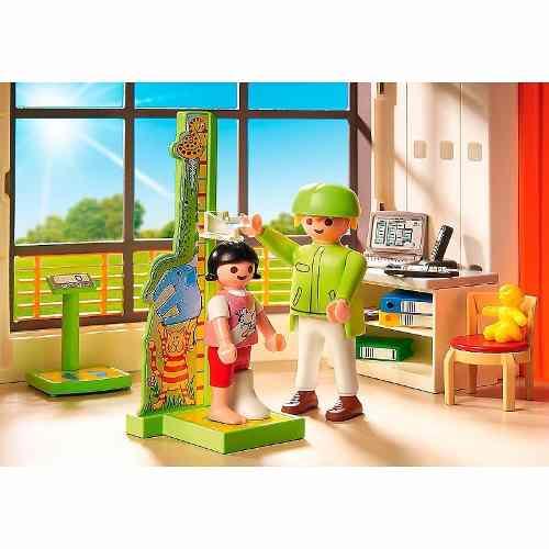 Playmobil - City Life - Hospital Infantil  - 291 peças  - Doce Diversão