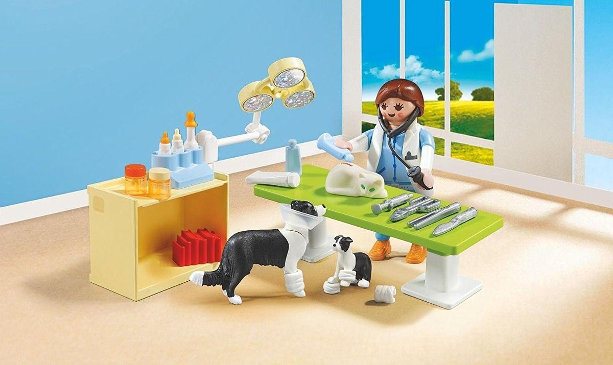 Playmobil City Life Maleta Medico Veterinario 39 peças  - Doce Diversão