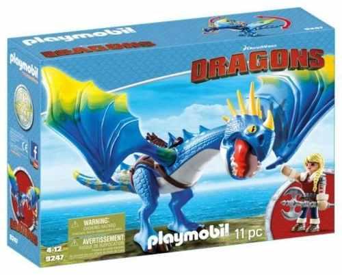 Playmobil Como Treinar O Seu Dragão - Astrid e Tempestade - 11 peças  - Doce Diversão